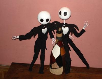 muñeco de 40 cm del extraño mundo de jack de tim burton