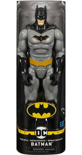 muñeco de batman original articulado renacimiento 29cm spin