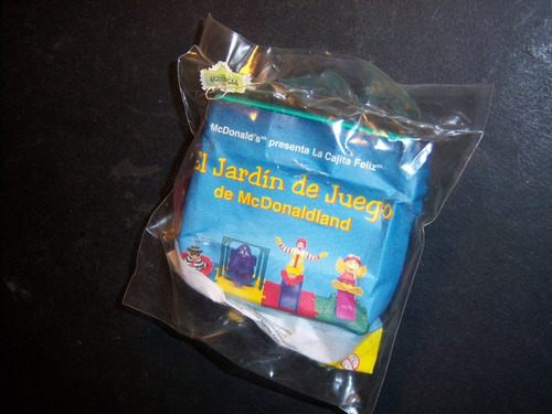 muñeco de birdie de mcdonald's . el jardín de juegos