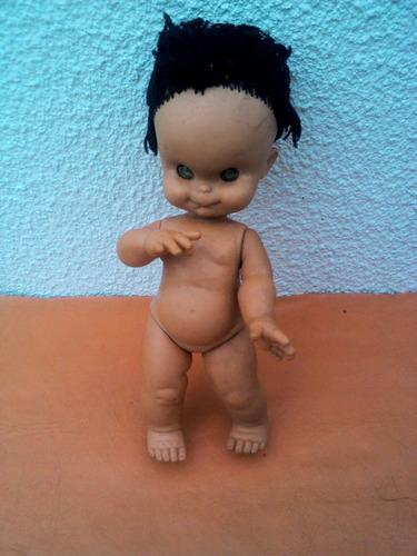 muñeco de goma años 70s.