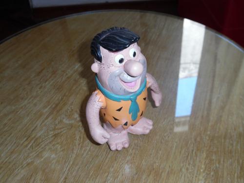 muñeco de goma antiguo picapiedras