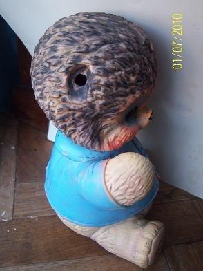 muñeco de goma biel rose anos 60/70