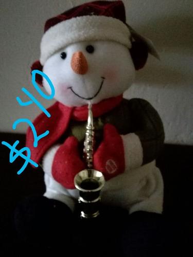 muñeco de nieve bailarin