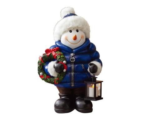 muñeco de nieve figura navideña mono nieve decorativo68.5cm