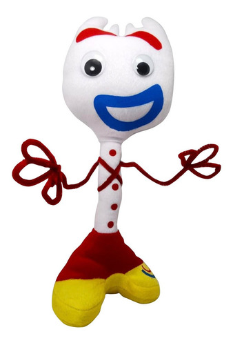 muñeco de peluche forky toy story juguete calidad 36cm