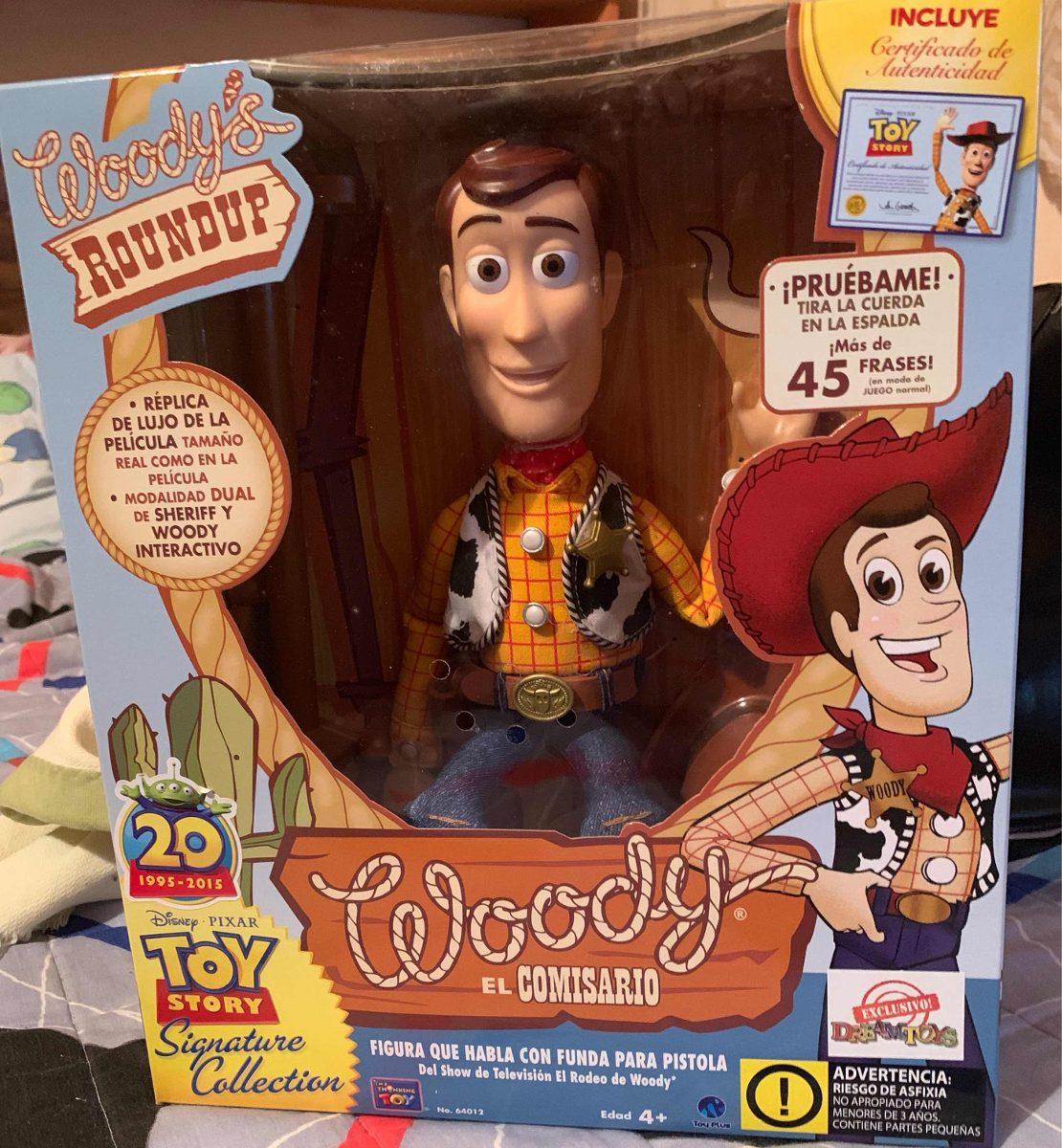 925ebf83dae00 Muñeco De Woody Y Tiro Al Blanco De Colección Toy Story - Bs ...
