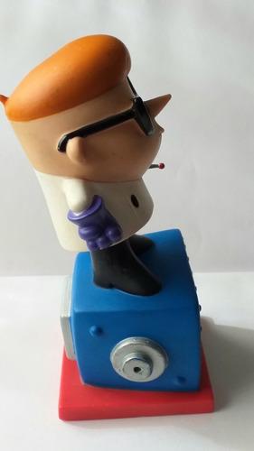 muñeco dexter laboratorio 15 cm funko 2007 excelente!!!