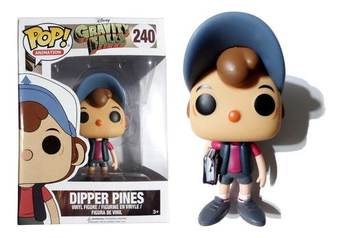 muñeco dipper pines gravity falls funko pop! animation #240