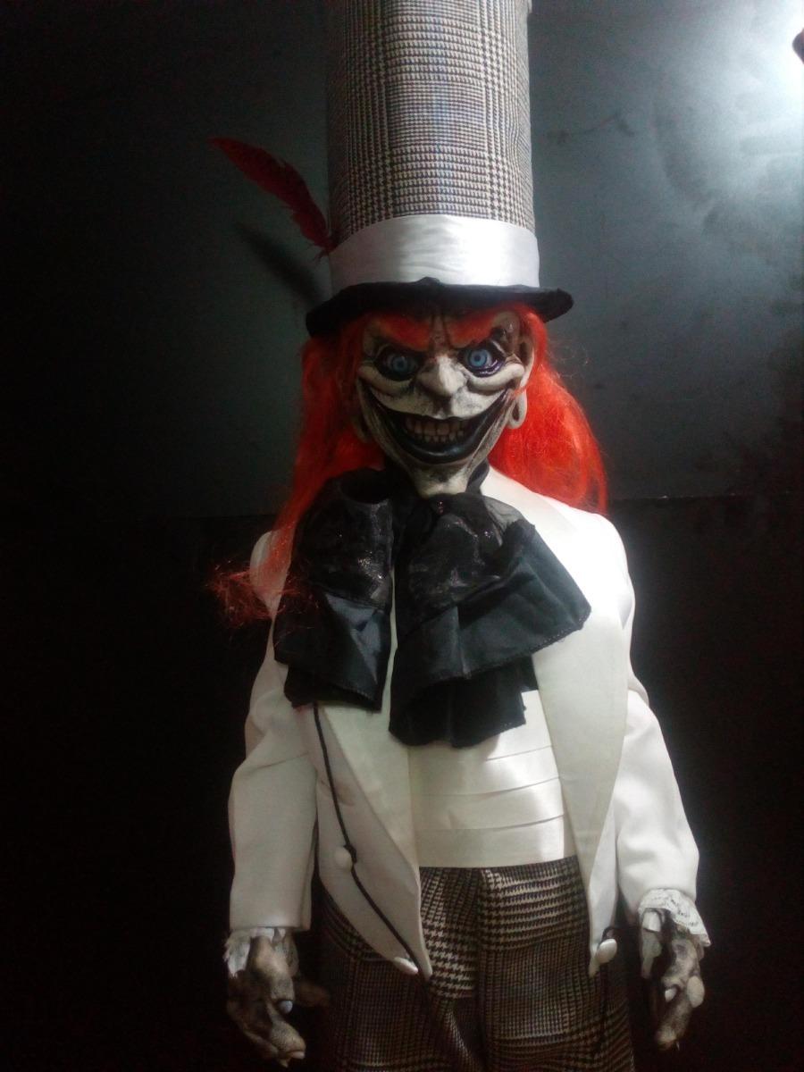 Muñeco Duende Maldito Halloween Figura De Fibra De Vidrio