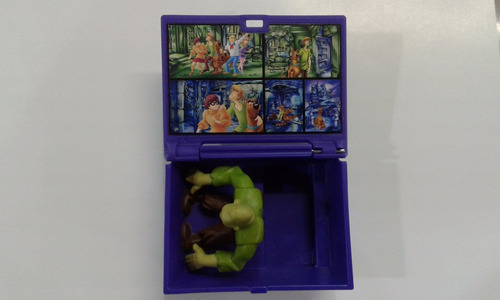 muñeco en caja ataud monstruo   scooby doo  original