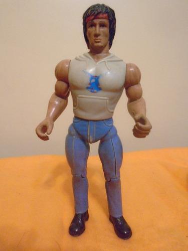 muñeco figura acción rambo fire power anabasis jocsa