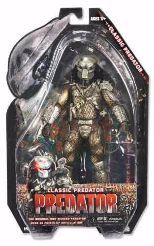 muñeco figura depredador predator classic neca