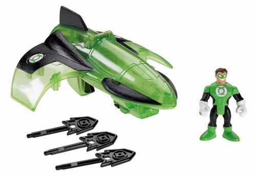 muñeco fisher-price imaginext dc super friends green lantern