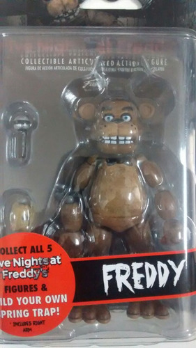 muñeco five nights at freddys articulado caja sellada, envio