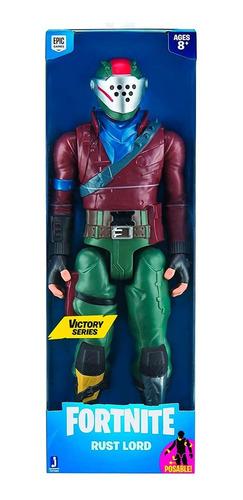 muñeco fortnite figura coleccionable 30cm rust lord fnt0083