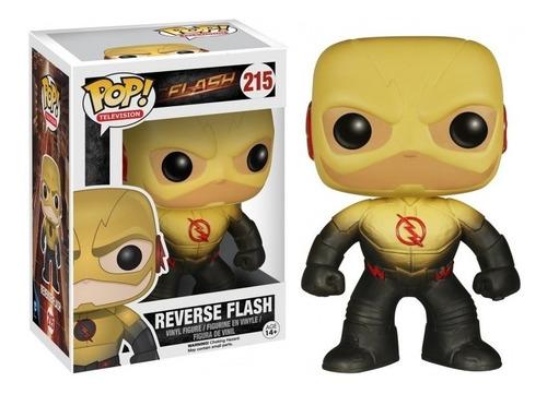 muñeco funko pop 215 reverse flash original!!