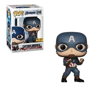 muñeco funko pop 450 capitán américa edición especial orig!!