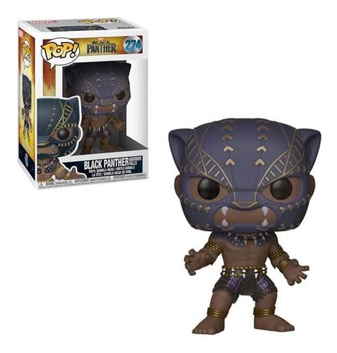 muñeco funko pop black panther - pantera negra 274 original