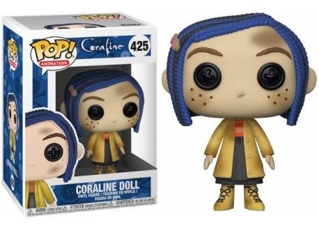 muñeco funko pop coraline doll 425