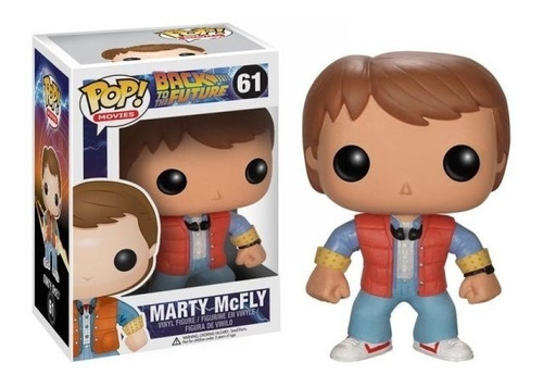 muñeco funko pop marty mc fly volver al futuro collagekidsar
