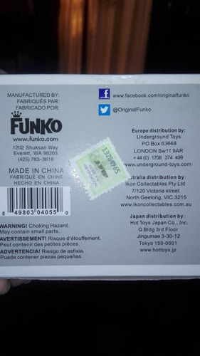 muñeco funko pop original saw billy #52