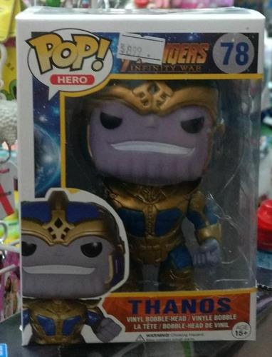 muñeco funko pop thanos avengers 10 cm el rey sancho