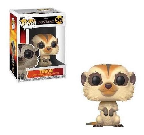 muñeco funko pop timon 549 rey leon disney original