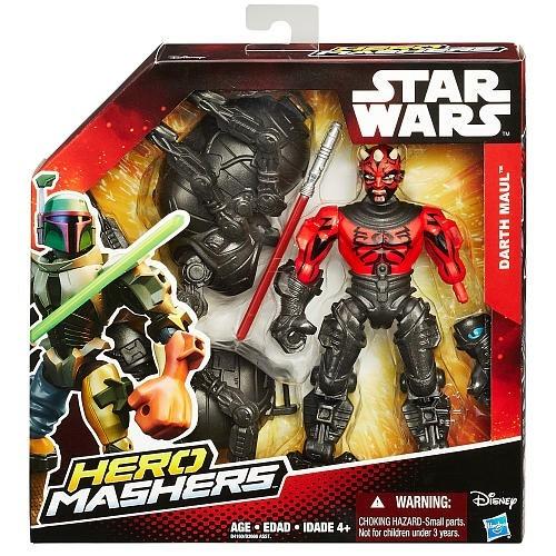 muñeco hero mashers star wars darth maul hasbro original