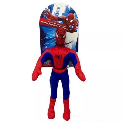 muñeco hombre araña spiderman soft 55 cms