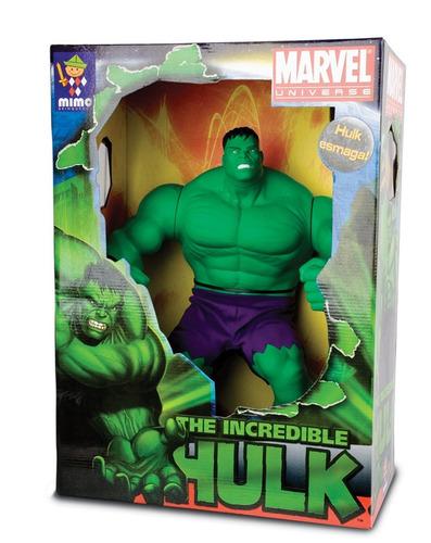 muñeco hulk gigante articulado 46cm marvel original