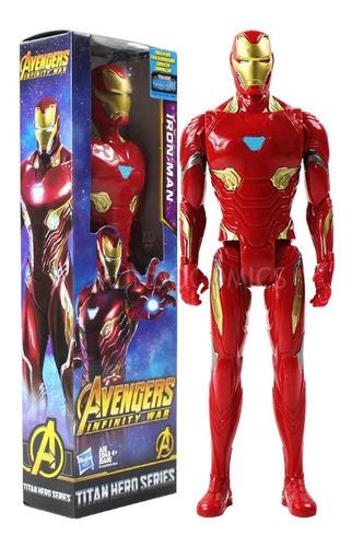 muñeco iron man hasbro china 30cm avengers infinity war