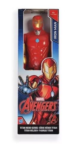 muñeco iron man titan ref:a6701 original hasbro c0756-b6660