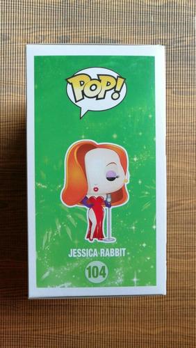 muñeco jessica rabbit funko pop original #104 envios