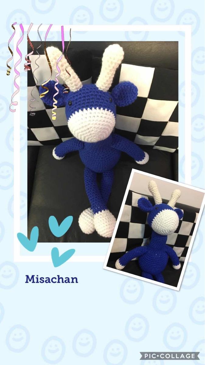 Jirafa Amigurumi Crochet | Almofadas de croche, Bichinhos de ... | 1200x674