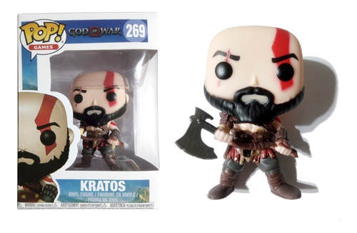 muñeco kratos god of war funko pop! games #269