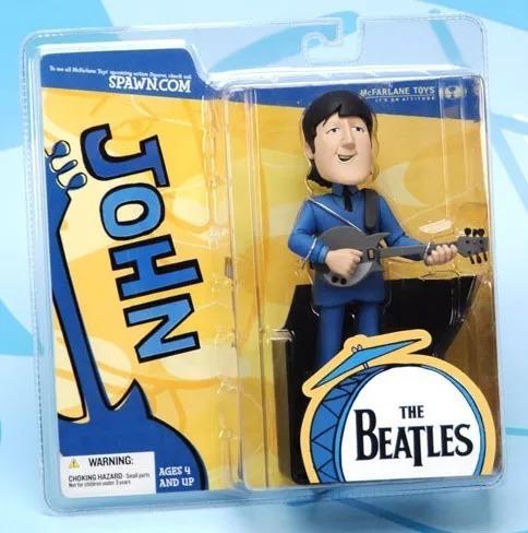 muñeco lennon beatles cartoon mca. mcfarlaine -  en caja