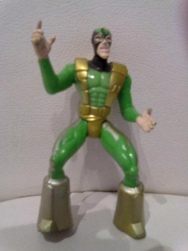 muñeco marvel 90 toy biz spider man hombre araña electro