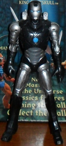 muñeco marvel legends avengers iron man stealth operations