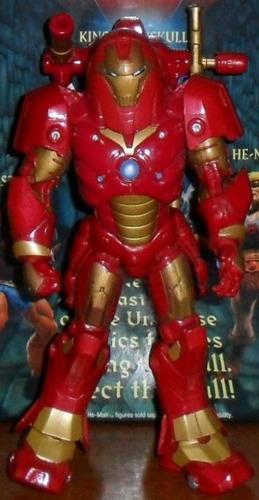 muñeco marvel legends iron man hulkbuster armored avengers