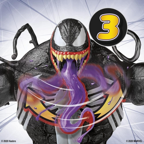 muñeco marvel maximum venom slime e9001 hasbro educando