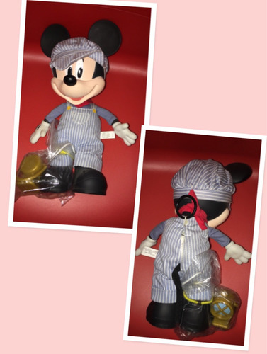muñeco mickey mouse con música disney store americano