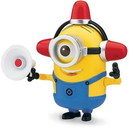 muñeco minion 2 en 2 lucy bombero mi villano favorito nuevo!