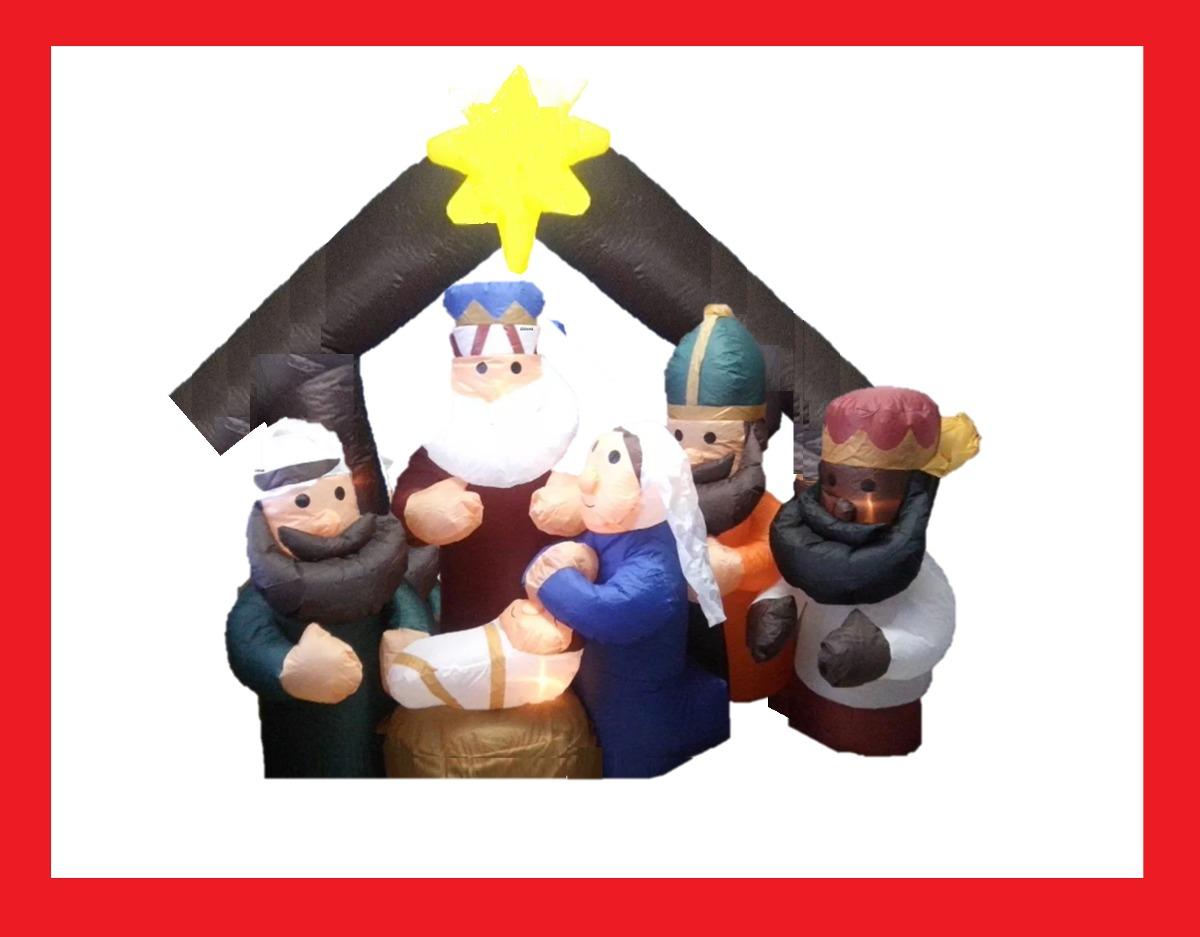 d1db4355d50 muñeco navideño inflable decoracion navidad envio gratis. Cargando zoom.