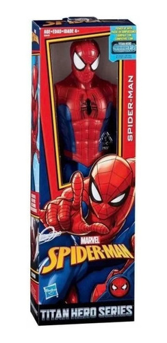 muñeco original spiderman blast gear titan hero hasbro