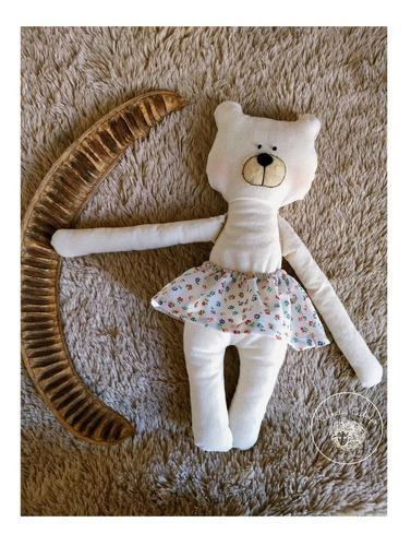 muñeco oso caloyo- hecho a mano