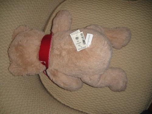 muñeco oso con bufanda aeropostale 42cm de alto