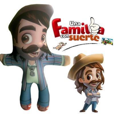 muñeco pancho lopez una familia con suerte original ¡oferta!