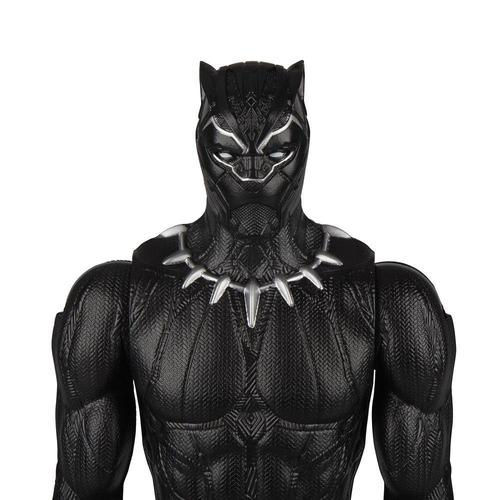 muñeco pantera negra 30cm marvel titan e0869 hasbro