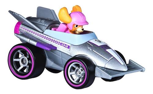 muñeco paw patrol skye ready race rescue figura y vehiculo