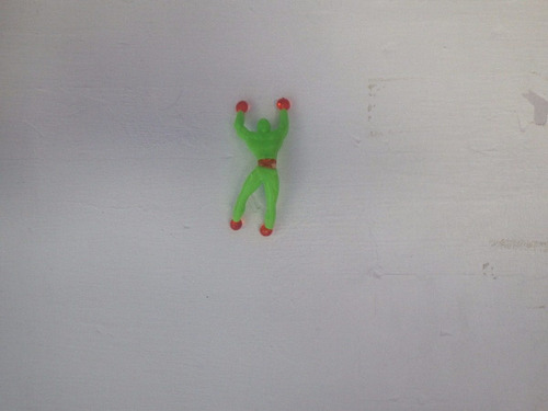 muñeco pegajoso juguete para piñata 20 pzas